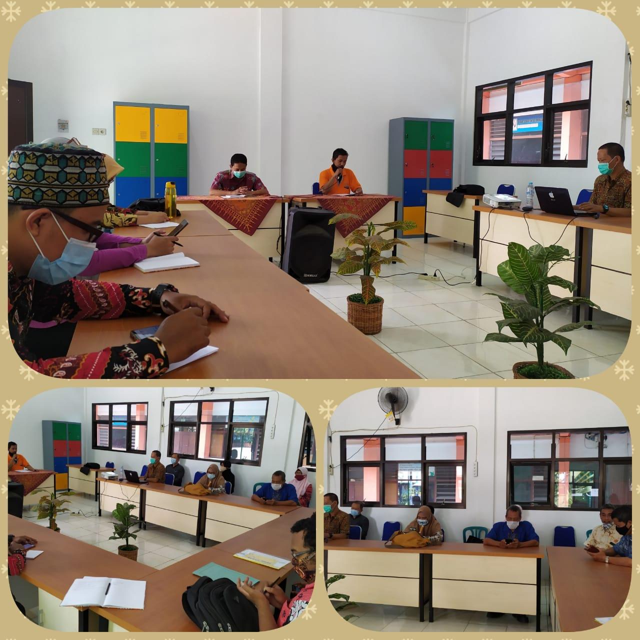 Rapat Persiapan Pelaksanaan PTS Semester Ganjil
