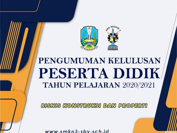 BISNIS KONSTRUKSI DAN PROPERTI 2020/2021