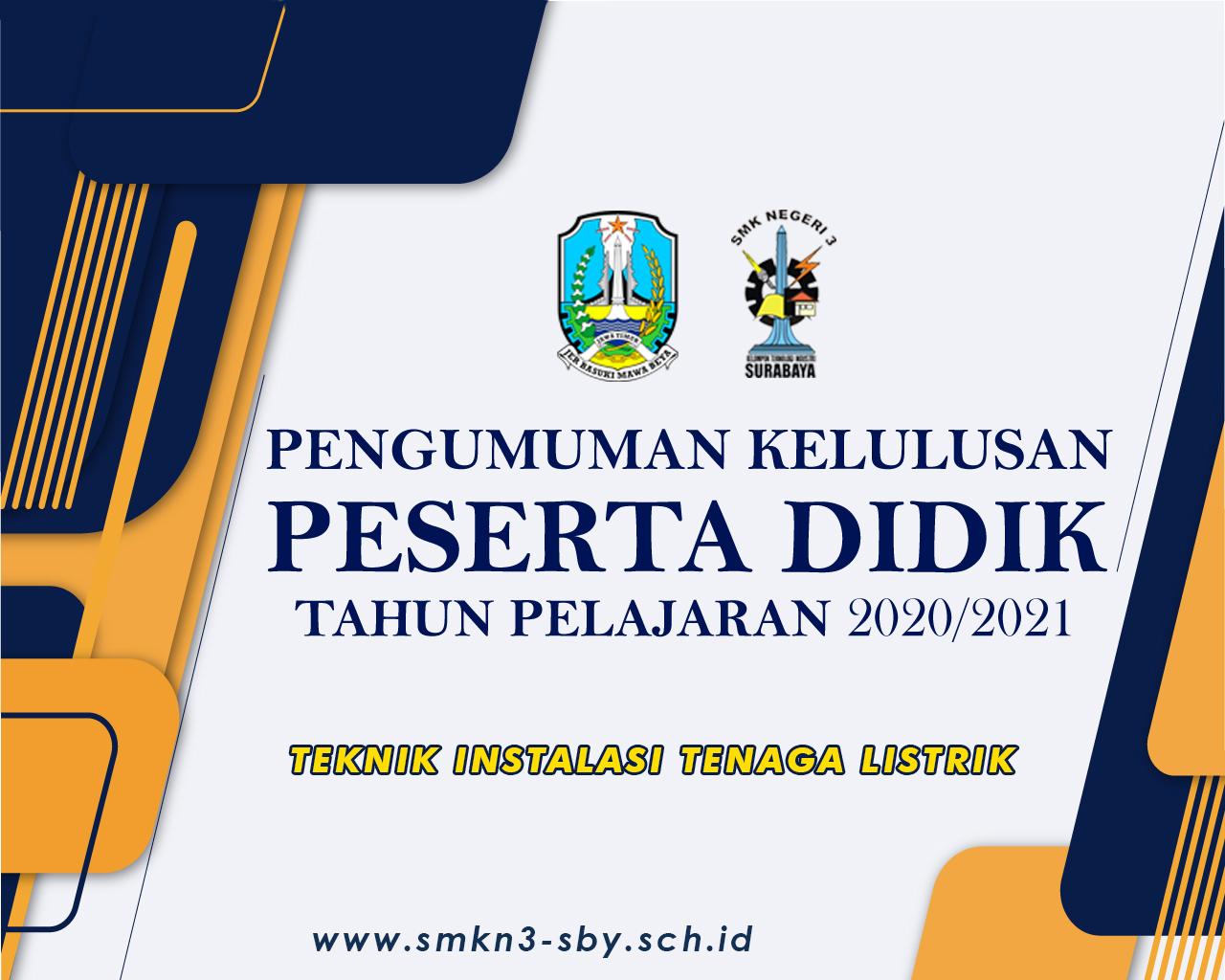 TEKNIK INSTALASI TENAGA LISTRIK 2020/2021