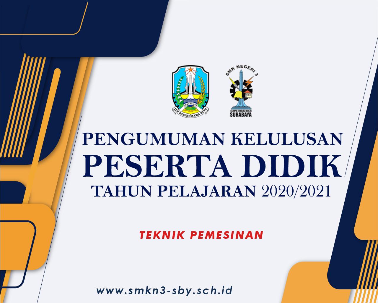 TEKNIK PEMESINAN 2020/2021